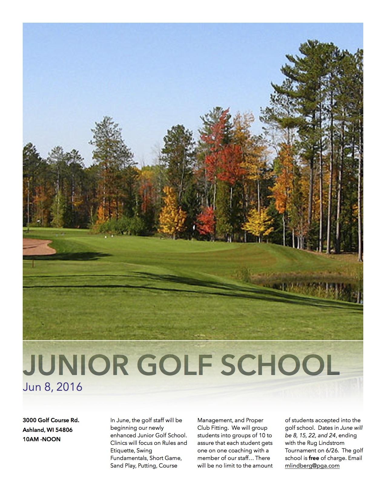 Junior Golf School